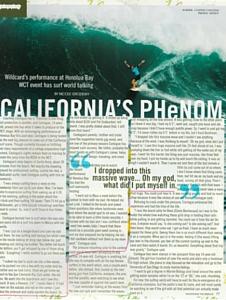 Surf Shot Interview