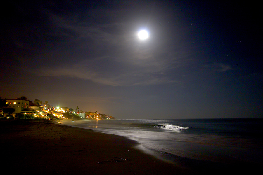 Laguna Beach Moonlight