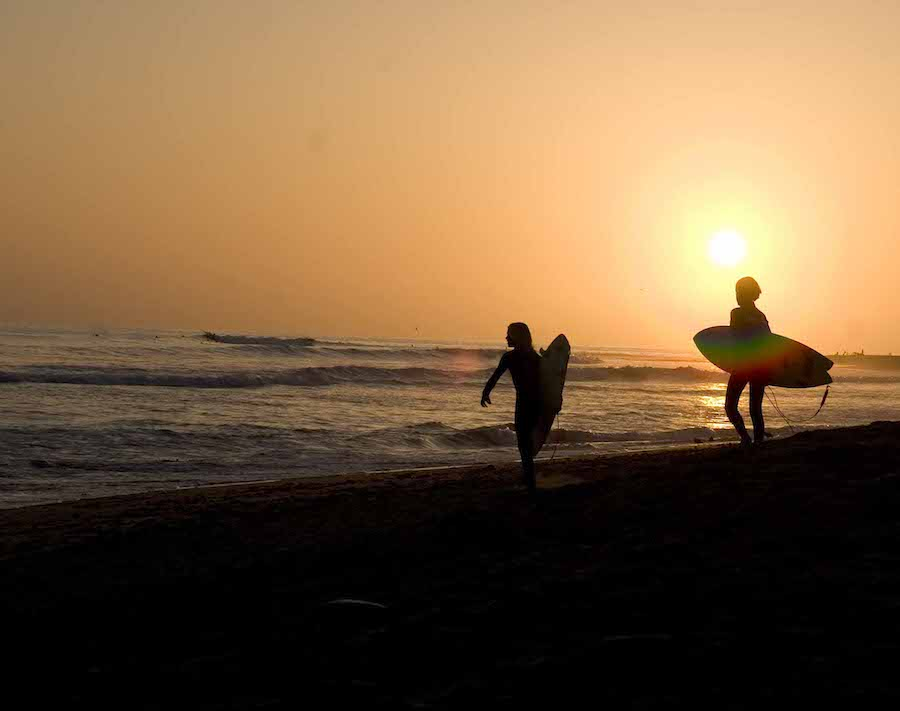 Summer Sunset- Surf Sesh - Nicole Grodesky