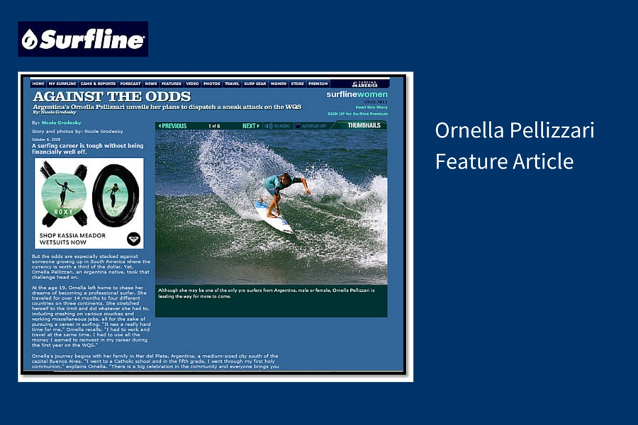 Ornella PellizzariFeature Article
